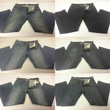 Lot of 6 Mens Designer Blue Jeans Levis American Eagle Aeropostale GAP 34 x 32
