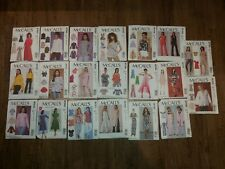 McCall's # 6 Ladies Sewing Patterns All Sz 6-14 Various Styles YOU PICK