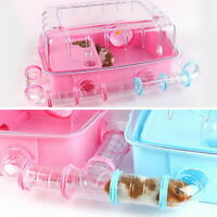 1PC Transparent Pipe Hamster Toy Small Animals Hamster Cages Tubes Playing