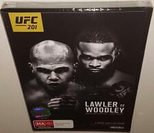 UFC 201 LAWLER VS WOOLEY (2016 RELEASE) BRAND NEW SEALED REGION FREE DVD SET