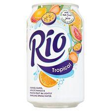 Rio jus de fruits tropicaux boisson 330 ml (Pack de 24)