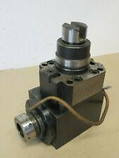 Takisawa GM81998-611 A539 ER32 Driven Head Axial Driven Tool Bolt On CNC Lathe