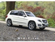 1:/18 Scale Benz GLK Diecast Static Alloy  collection Car SUV Model White+GIFT
