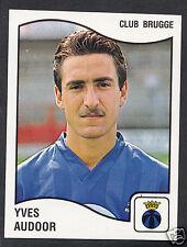 Panini Sticker - Belgium Football 1990 - No 105 - Club Brugge - Yves Audoor