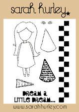 Sarah Hurley DOODLE bambole-Sogno di un piccolo sogno TIMBRO SET