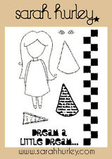 Sarah Hurley Doodle Dolls - Dream A Little Dream Stamp Set