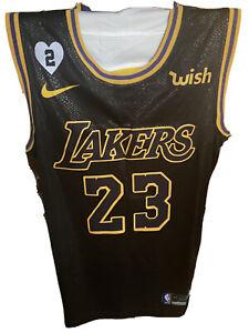 Lakers James Black Mamba Edition Swingman Jersey US XXL