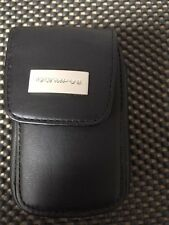 New Vintage Genuine Olympus Soft  Leather Camera Case  Rare Find