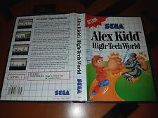 # Sega Master System-Alex Kidd In High-Tech World-Top/MS juego #