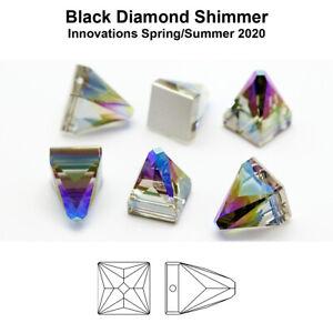 Genuine SWAROVSKI 3296 Square Spike Sew-On Stones Crystals * Many Colors