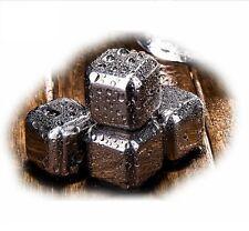 Neu 4x Neu Edelstahl ice cube Eiswürfel Whiskey Steine Getränk Kühler Cube