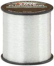 New P Line Floroclear 1 4 Size Fishing Spool 600 Yard 4 Pound Free Shipping