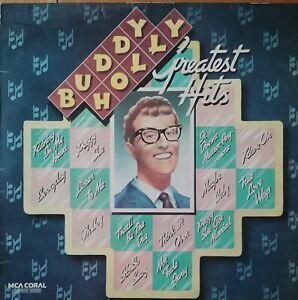 BUDDY HOLLY - GREATEST HITS . VINYL LP MCA Coral cdlm8007 mono recording