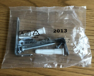 IKEA Malm Safety Anti-tip Wall Fixing Pack - Genuine Components NEW
