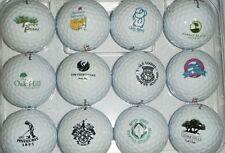 3 Dozen Bridgestone (Famous Golf Course Logos ) Mint AAAAA Used Golf Balls
