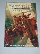 Serenity Volume 2 Better Days Unread tpb Gn Dark Horse Firefly Joss Whedon