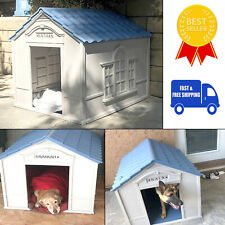 Dog House Outdoor Indoor Weatherproof Extra Large Breed Outside Durable Home New