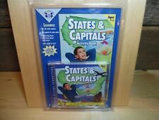 Home School Twin Sisters Educational CD And Book Set States & Capitals
