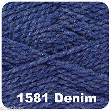 King Cole Big Value Aran 100gm Balls 15 Colours 1581 Denim