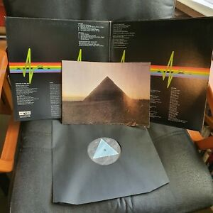 THE DARK SIDE OF THE MOON PRIMA STAMPA GIAPPONESE.
