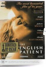 THE ENGLISH PATIENT RALPH FIENNES JULIETTE BINOCHE BRAND NEW R4 DVD IN PLASTIC