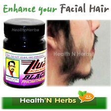 NATURAL FACIAL HAIR GROWTH CREAM BLACK PHOMTHONG GROW BEARD MUSTACHE EYEBROWS
