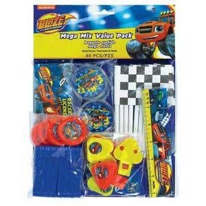 HUGE VALUE PACK 48 x Blaze Boys Birthday Party Favours Loot Bag Fillers
