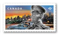 POLICE OFFICER = DIE CUT booklet stamp from Q.Pack Canada 2018 MNH VF