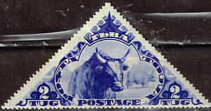 Touva Siberian Fauna Animals Buffalo stamp 1936 MLH