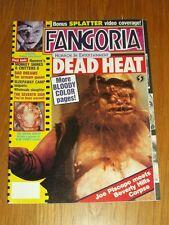 FANGORIA #73 MOLE MAN DREAM DEMON DEAD HEAT CRITTERS 2 WITH POSTER