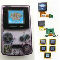 Nintendo Game Boy Color GBC System Backlight Backlit Brighter Mod Atomic Purple