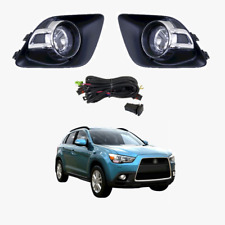 Fog Light Kit for Mitsubishi ASX XA 2010-2012 with Wiring & Switch