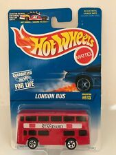 Hot Wheels Autobús Londres 1996 Mattel Double Decker