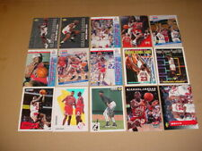 MICHAEL JORDAN 15 CARDS LOT CHICAGO BULLS THE LAST DANCE