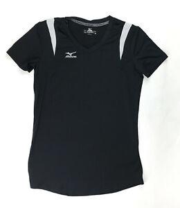 Mizuno Volleyball Moisture Management Training Shirt Women's S Black 159924
