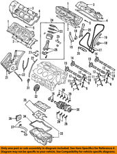 MAZDA OEM 04-06 MPV-Engine Oil Pan Gasket ZZC110431