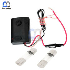 10A 12V Black Music Audio Sound Voice Sensor LED Strip Light Controller For Car