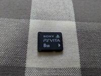 USED Sony Playstation PS Vita 8GB Memory Card No Box 8G