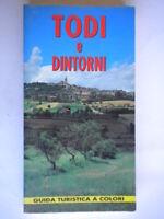 Todi e dintorni Guida turistica Grassetti illustrato viaggi umbria come nuovo 19