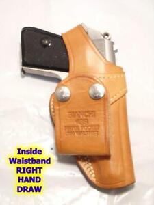 #3S BIANCHI Pistol Pocket SwiveI IWB Gun Holster for WALTHER PPK PPK/S All Cals