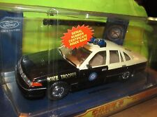 FLORIDA HIGHWAY PATROL STATE TROOPER 1/24  FORD CROWN VICTORIA code 3 w/ PATCH