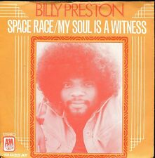 7inch BILLY PRESTON space race HOLLAND +PS EX 1973