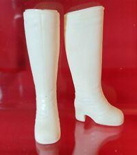 Sindy Pedigree Vintage Squichy White Boots