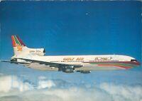 Gulf Air Fivestar Tristar Lockheed Vita Nova Printed postcard