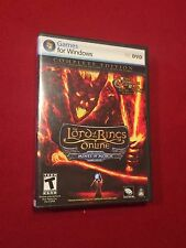 The Lord of the Rings Online Mines of Moria PC Video Computer Game Rated T 2007