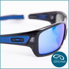 NEW Oakley Turbine Black Ink Prizm Sapphire Iridium (9263-56) Sunglasses