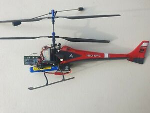 Eflite E-Flite 180-EFL RC helicopter DAMAGED PARTS AS IS FREE POST