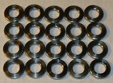 """Stainless Steel Machined Washers:  1/2"""" OD 1/4"""" ID .07"""" thick (Lot of 20)"""