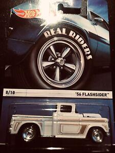 HOT WHEELS '56 FLASHSIDER REAL RIDERS