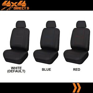 SINGLE STITCHED LEATHER LOOK SEAT COVER FOR DAIHATSU CHARADE CENTRO IV
